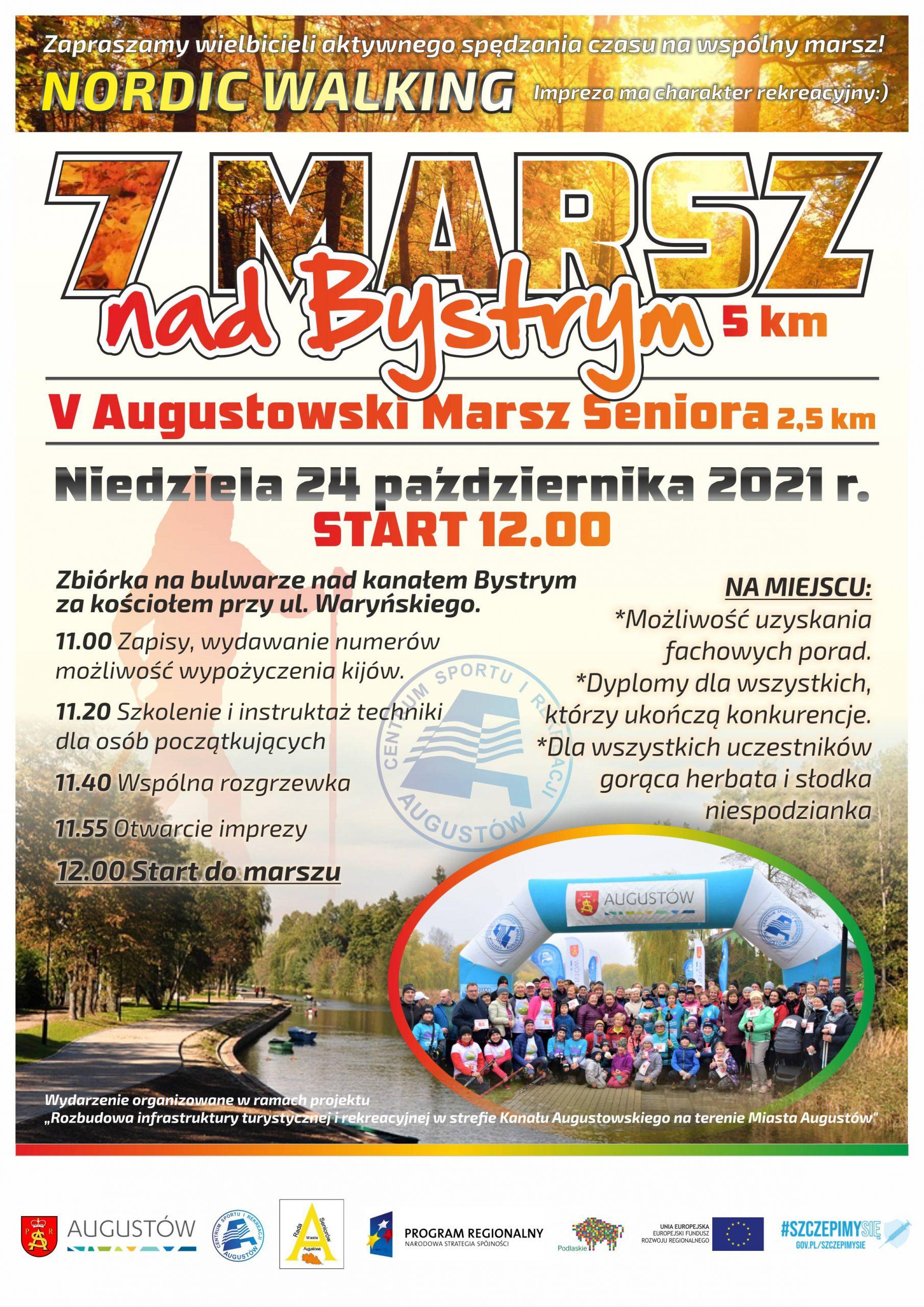 marsz nad bystrym_7_piatymarsz seniora_2021_plakat